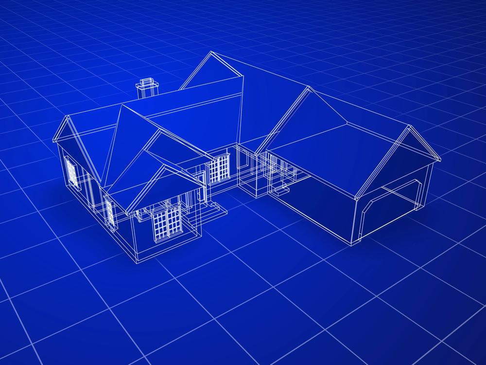 Projekt domu 3d