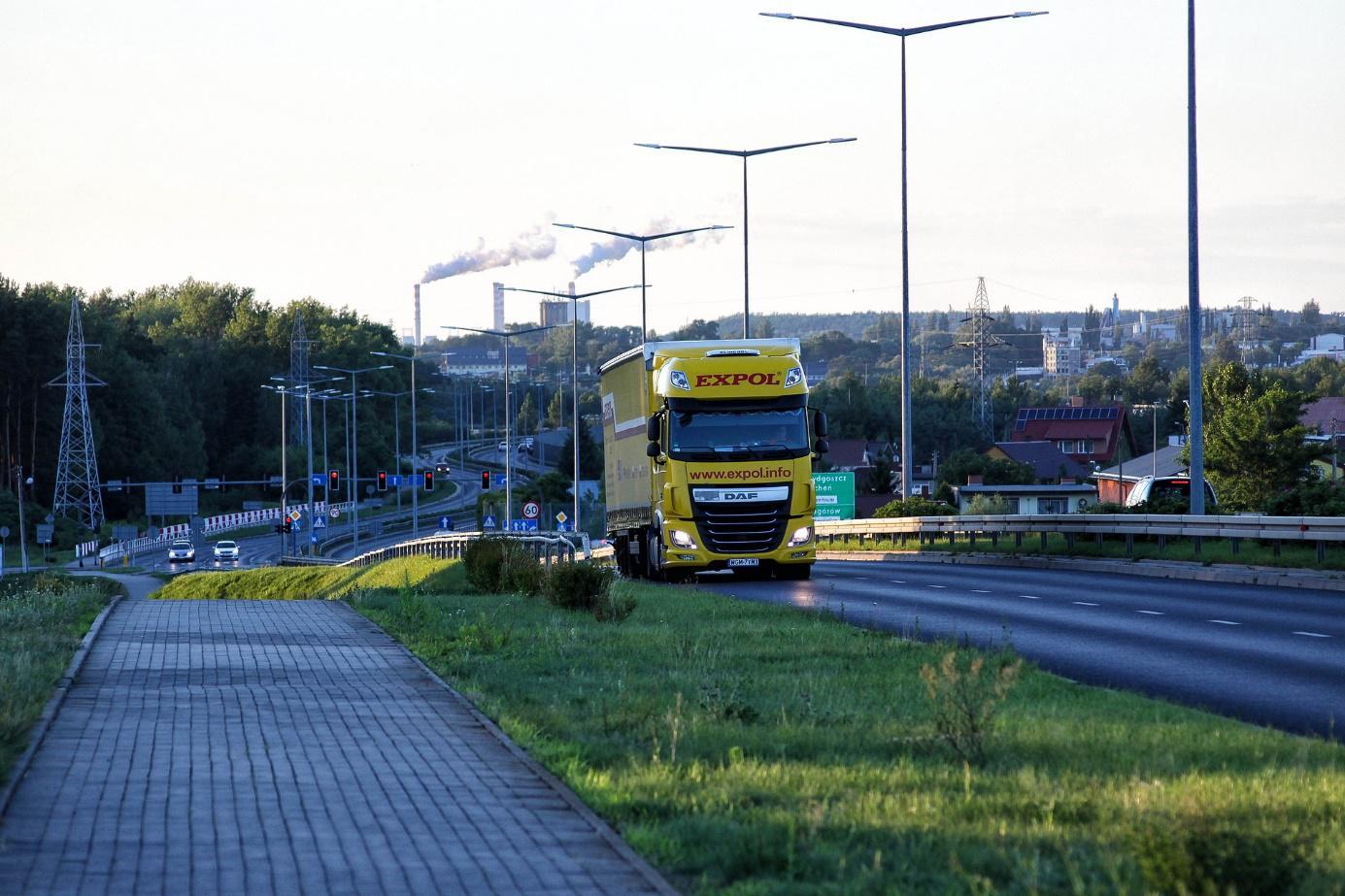 Ciężarówka do kontroli